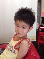 ヘアー サイ(Hair Sai)キッズツーブロックショート