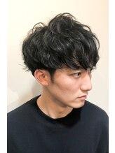 シスタ ヘアーデザイン(CISTA hair design)マッシュショートスパイラル