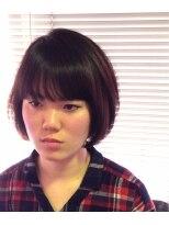 ヘアーカーブ(haircarve)haircarve夏サキドリ★ミニマム・ショートボブ