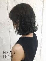 フローレス バイ ヘッドライト 三鷹店(hair flores by HEADLIGHT)黒ツヤ髪×外ハネボブSP20210203