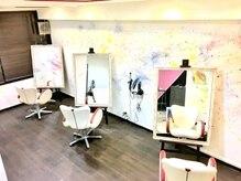 アトリエフローリッシュ 仙台店(atelier Flourish)の雰囲気(大きなキャンパスの様なセット面..♪)