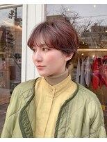 チカシツ(Chikashitsu)19ss curl short
