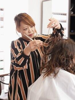 ギフトイロドリヘアー(Gift. irodori hair)の写真/【和泉府中】思わず触れたくなるような、ふわふわの仕上がりに◎イメチェンにもおすすめ♪