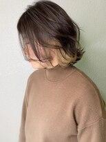 シェリア(Shelia)ゴールドベージュ×インナーカラー【Shelia町田】