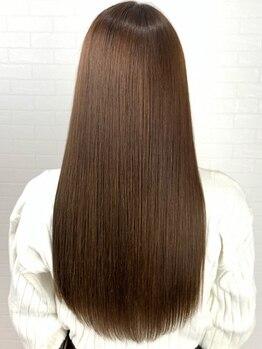 ブランエノワール(Blanc et Noir)の写真/特別な誰も知らない髪質改善≪モノクリスタトリートメント≫をご体験ください♪驚きのなめらか手触りに◎