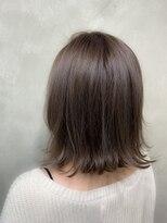 サロンドミルク 原宿(salon de MiLK)ナチュラル艶ボブ 外ハネ 髪質改善
