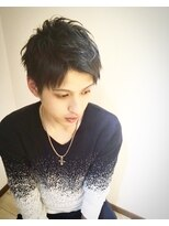 アップバング×黒髪ショート☆