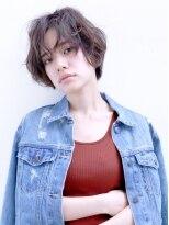 バッテリー ヘアアンドメイク 塚口店(Battery hair&make)大人カジュアルなこなれ感ショート