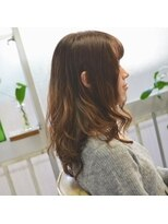 ポタム 東中野(potamu)矯正毛の毛先にふんわり楽チンパーマ