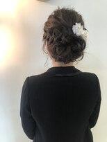 ヘアーエスクールステラ(hair S.COEUR stella)ゆるふわ + 王道編み込みアップ ★