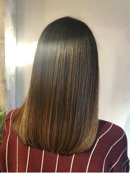 ヘアーズ ロッティー(Hair's Lotti)の写真/テーマは【髪質改善】★表面的なケアではなく、髪の内部から徹底補修!傷んだ髪もやわらかな質感へ!