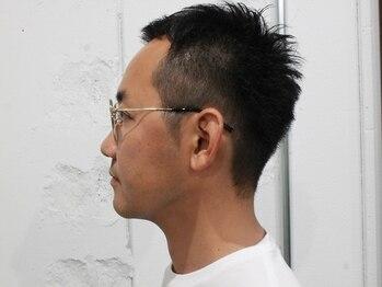 ユルヘアー(YURUHAIR)の写真/【中区鴨江/駐車場有】メンズファン多数!美容室では珍しいシェービングができるSALON★『YURUHAIR』