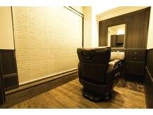 バーバーサロン カズヘア(BARBER SALON KAZU HAIR)の雰囲気(個室でまわりを気にせずに、ゆっくりと自分だけの時間を。)