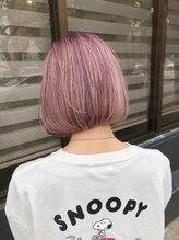 ナンバーファイブ(NUMBER FIVE)pink&purple&beige
