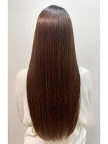 最高級髪質改善トリートメント×美髪×ダークブラウン