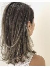 スピンヘアワークス(Spin Hair Works)【松本侑也】夏のハイライトグラデーション