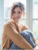 オーブ ヘアー リンク 葛西店(AUBE HAIR link)可愛くて色っぽい編み込み×ルーズアップ