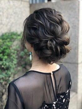 ヘアメイク ゼロサンヨンゴ(Hair Make 0345)の写真/時間外でもNet予約可能です!ヘアセット¥2980☆30分でパッと完成!造りこみ過ぎない、だけど可愛い♪