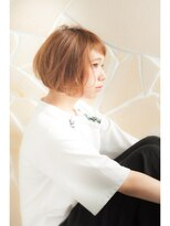 ミンクス 銀座店(MINX)【MINX土屋】美しい横顔を演出するショート前髪ニュアンスボブ