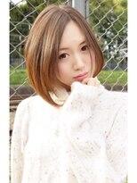 ヘアーサロン エール 原宿(hair salon ailes)(ailes 原宿)Style113 クラシカル☆フェルトボブ