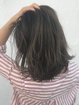 ゴッドヘアーアンドメイク 前橋元総社店(GOD Hair&Make)の写真/髪に優しいオーガニックカラーだから、傷みを気にせず定期的にカラーが出来る♪プチプラ価格も魅力的◎