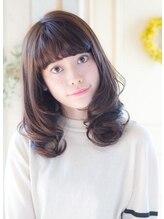 ラピッシュ Lapish桜田店〈ラピッシュ桜田〉ラベンダーカラーアッシュ前髪学割U24