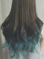 ルノン(LUNON)【 LUNON 】blue×turquoiseグラデーション