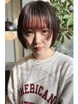 クリアオブヘアー リット(CLEAR of hair LiT)ぱつっとウルフ