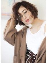 ココロヘアー 中島店(Cocolo hair)ラフな無造作感のカジュアルBOB