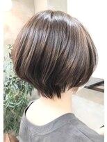 エトネ ヘアーサロン 仙台駅前(eTONe hair salon)【20代から40代にオススメ】丸みショート