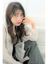ジーナフクオカ(Zina FUKUOKA)Zina☆シースルーバング×無造作カール