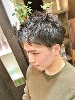 オムヘアーツー (HOMME HAIR 2)#マッシュレイヤー#アップバング#2ブロMIX#Hommehair2nd櫻井