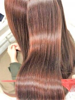 ビューティーリゾートオルオル(BEAUTY RESORT oluolu)の写真/話題の『サイエンスアクア』で美髪チャージ♪ダメージによるクセ毛にお悩みの方、髪質改善をしたい方必見!!