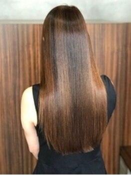 ビーセオリー 松山店(B.theory)の写真/髪を傷めず、綺麗にすることへのこだわり―商材も技術も独自のMAS-4導入。松山での取扱店はココだけ★