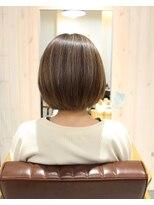 テオ ヘア(teo hair)グレージュ×ハイライト