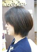 チチカカ スター ライズ ヘアー(chi chi ka ka star rise hair)営業ビフォーアフター、エイジングヘア上質縮毛矯正