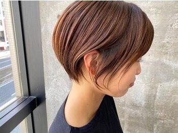 ガルボ ヘアー(garbo hair)の写真/繊細な似合わせショートヘアならガルボにお任せ!一人ひとりに合わせた絶妙なラインは高評価でリピートも◎