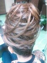 盛り髪(盛りヘア)の盛りアップ画像