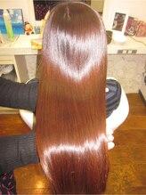 エムスリーディーサロン アクトヘアー(M3D Act Hair)髪質改善★M3Dハートのつやつや★パールアッシュブラウン★