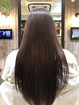 ルクスス(Ruxus)の写真/2種類の薬剤から、髪質に合わせたトリートメントをご提案!最高級ケアで美艶髪を叶える♪[世田谷/駒沢大学]