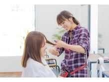 ナナ バイ ピケ(nana by pique)の雰囲気(なりたいイメージや悩みに共感し、スタッフが丁寧に対応します。)