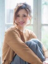 オーブ ヘアー ギンザ 銀座2号店(AUBE HAIR ginza)可愛くて色っぽい編み込み×ルーズアップ