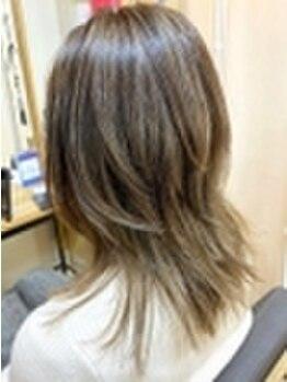 アリシアヘアー(ARISHIA hair)の写真/【アディクシー/アプリエ】SNSで話題の人気カラーを使いこなし、口コミ高評価◆あなたの可愛いが叶う★