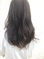 ヘア ミール(hair mirle)暗透ベージュカラー