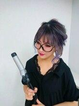 ヘアーセットサロン ピンキー(Hairset Salon Pinky)張本 佳奈美
