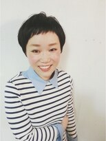 トリコ ヘアアンドケアスペース(trico hair&care space)trico Togo SS Short Style「黒髪ショート」