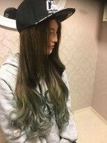 イーエル 近鉄パッセ店(e.ll)【e.ll Queen】 外国人風グラデーションカラー♪3D カラー