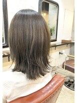 エトネ ヘアーサロン 仙台駅前(eTONe hair salon)【eTONe】切りっぱなし+レイヤー