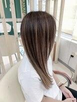 ハーフバックス 多摩境店(HAIR STUDIO HALF BACKS×1/2)ハイライト+オンカラー