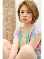 マイア 横浜駅店(hair saloon maia)耳かけ小顔な外国人風ショートボブ☆タンバルモリ